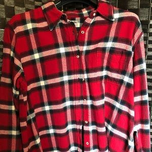Wrangler plaid women's shirt.